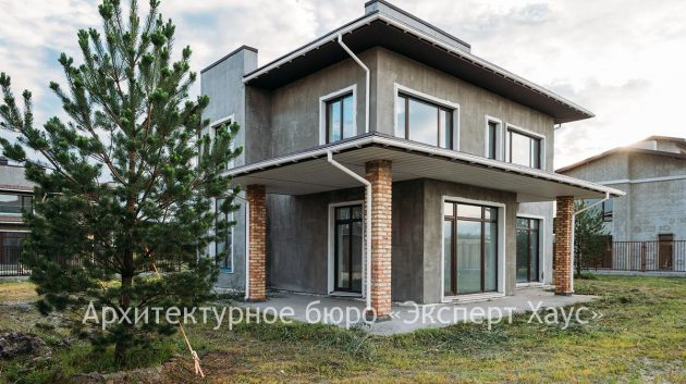 Дом из теплой керамики в Апрелевке