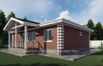 Компактный каркасный дом