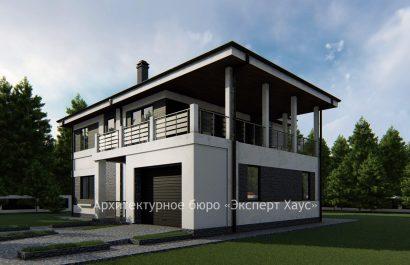 Проект дома из арболитовых блоков