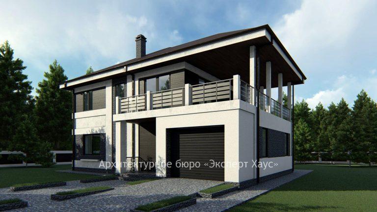 Проект дома под арболит