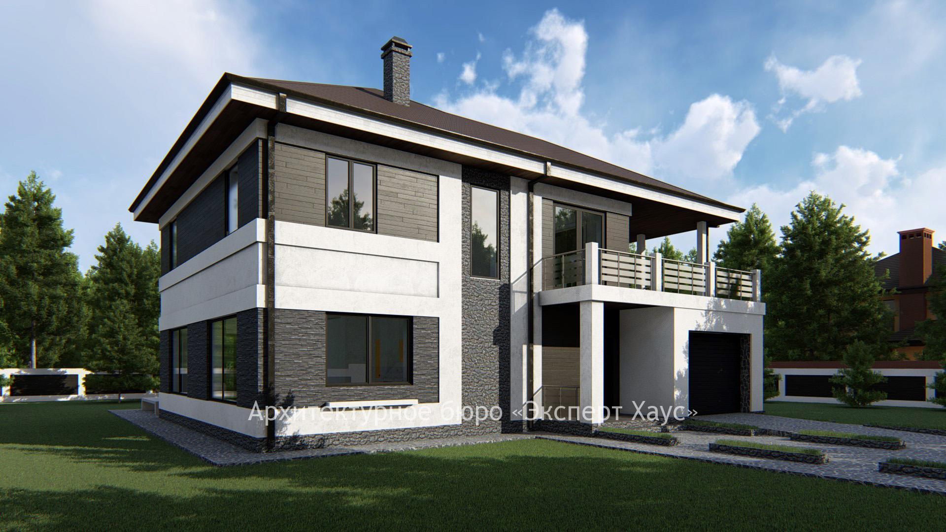 Проектирование дома из арболитовых блоков