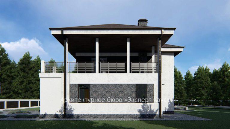 Проектирование жилого дома из арболита