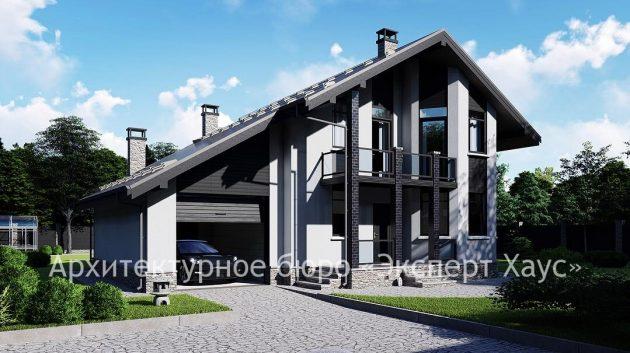 Дом из Поротерма в посёлке Жуково