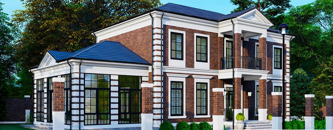 Пример проектирования дома